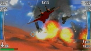 After Burner : Black Falcon PlayStation Portable
