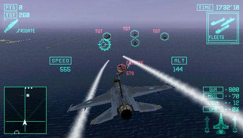 Ace Combat X Playstation Portable