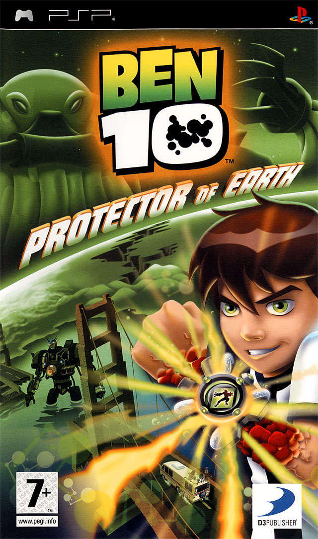 [Mu] [PSP]Ben 10 Protector Of Earth