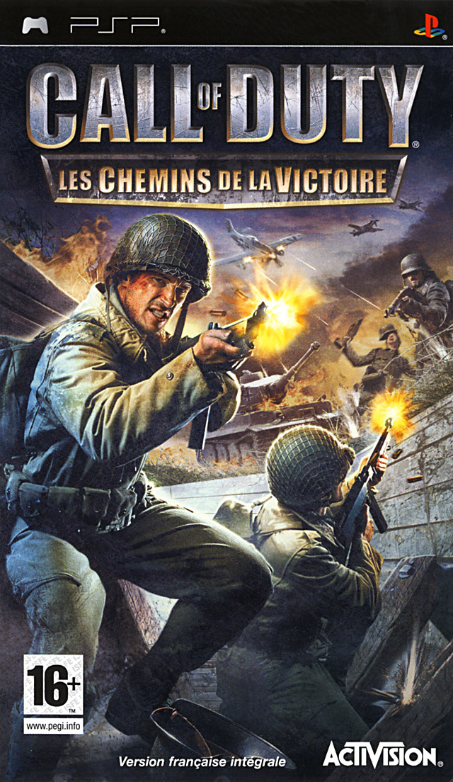 [MULTI] Call of Duty : Les Chemins de la Victoire [PlayStation Portable] [Multi-lang]