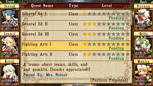 Class of Heroes PlayStation Portable