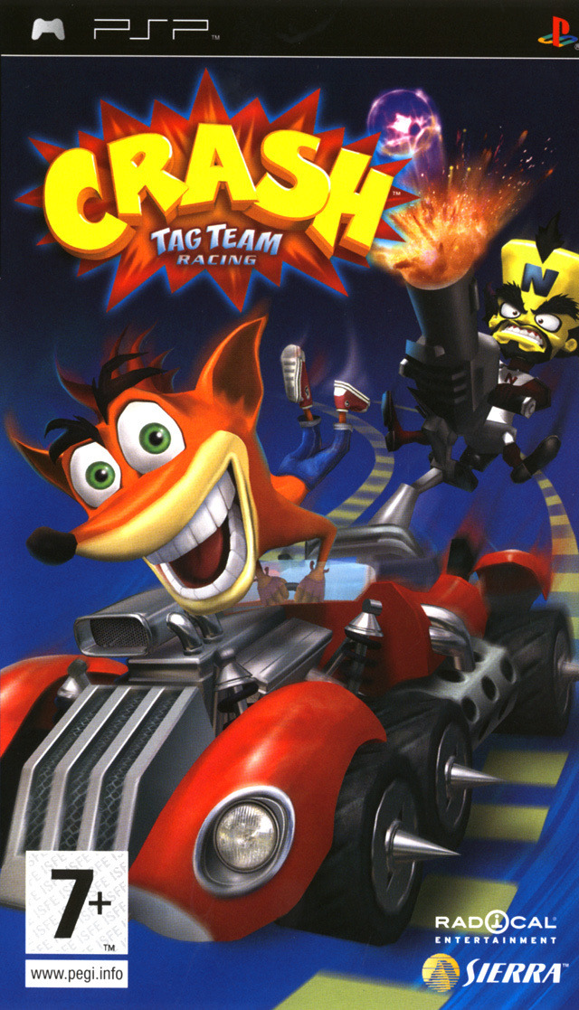 telecharger gratuitement Crash Tag Team Racing