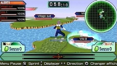 Dragon Ball Z : Shin Budokai 2 [PSP] [MUTI]