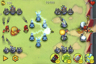 Fieldrunners PlayStation Portable
