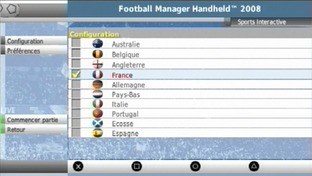 Football Manager Handheld 2008 PlayStation Portable