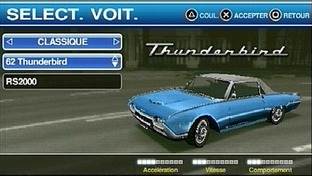 Ford Street Racing : LA Duel PlayStation Portable