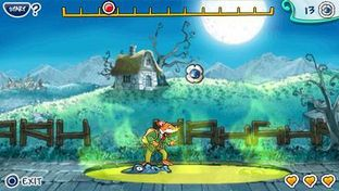 Test Geronimo Stilton : Retour au Royaume de la Fantaisie PlayStation Portable - Screenshot 1