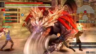 Test Gods Eater Burst PlayStation Portable - Screenshot 121