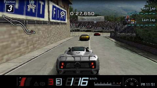 Gran Turismo Playstation Portable