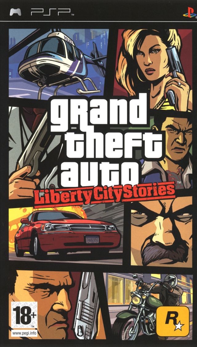 Grand Theft Auto : Liberty City Stories [PSP]