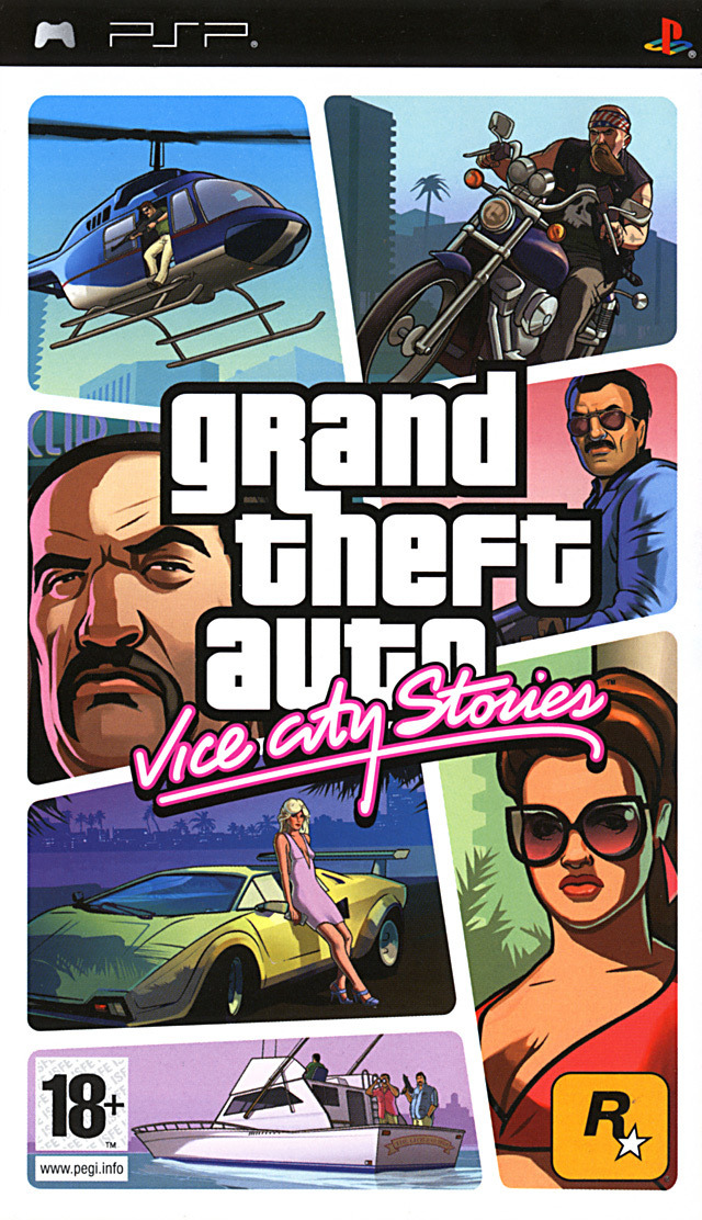 Grand Theft Auto : Vice City Stories [FRENCH PSP]