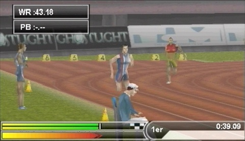 Images International Athletics PlayStation Portable - 29