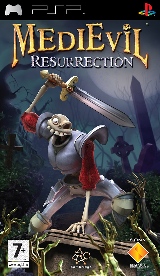 [MULTI] Medievil Resurrection [PlayStation Portable] [Multi-Lang]