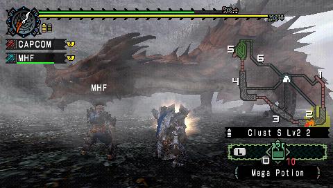 Images Monster Hunter Freedom Playstation Portable