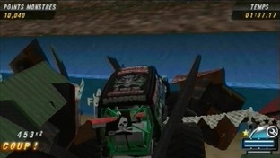 Monster Jam : Chaos Urbain PlayStation Portable