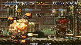 Metal Slug Anthology PlayStation Portable