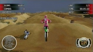MX vs ATV : Extreme Limite PlayStation Portable