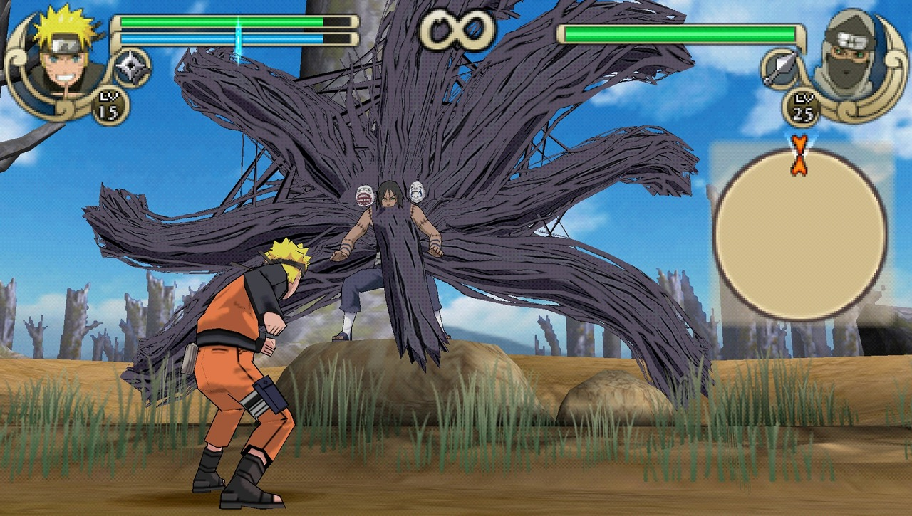Naruto Shippuden : Ultimate Ninja Impact- Playstation Portable