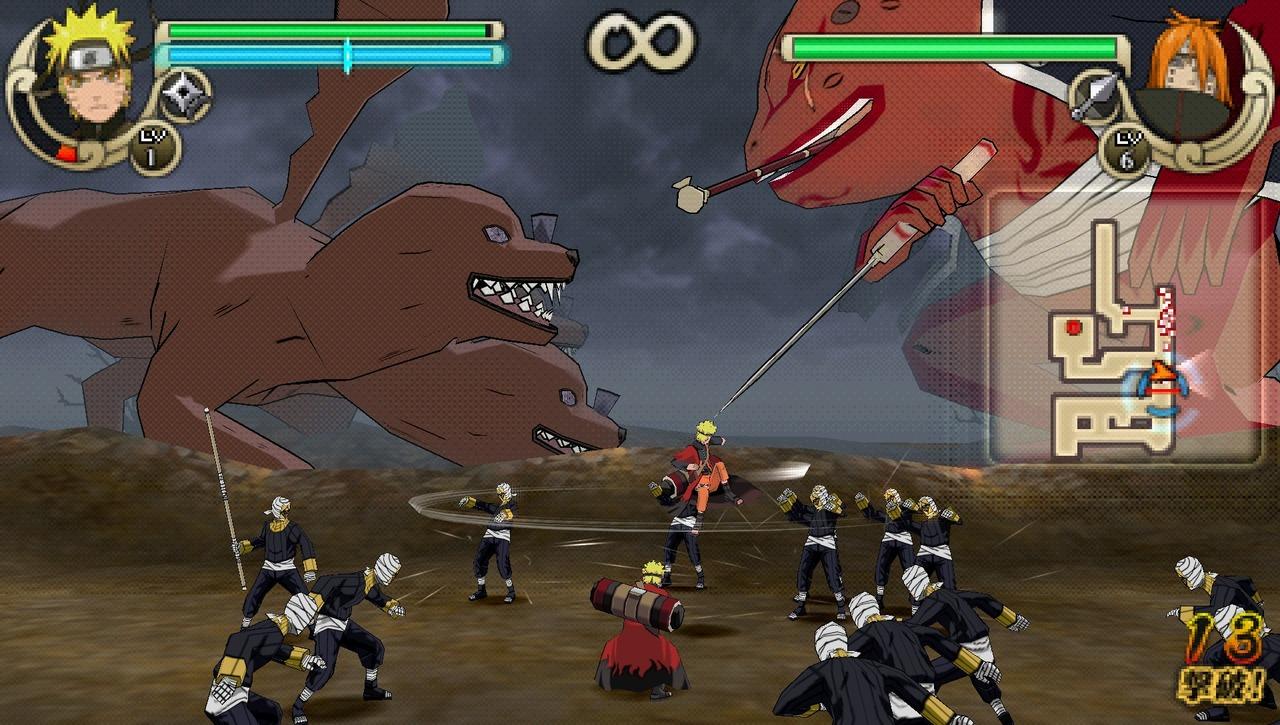 Images Naruto Shippuden : Ultimate Ninja Impact PlayStation Portable
