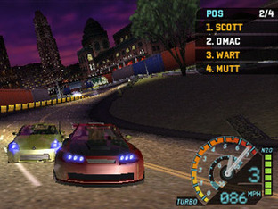 Test Need For Speed Underground Rivals PlayStation Portable - Screenshot 1