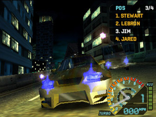 Test Need For Speed Underground Rivals PlayStation Portable - Screenshot 4
