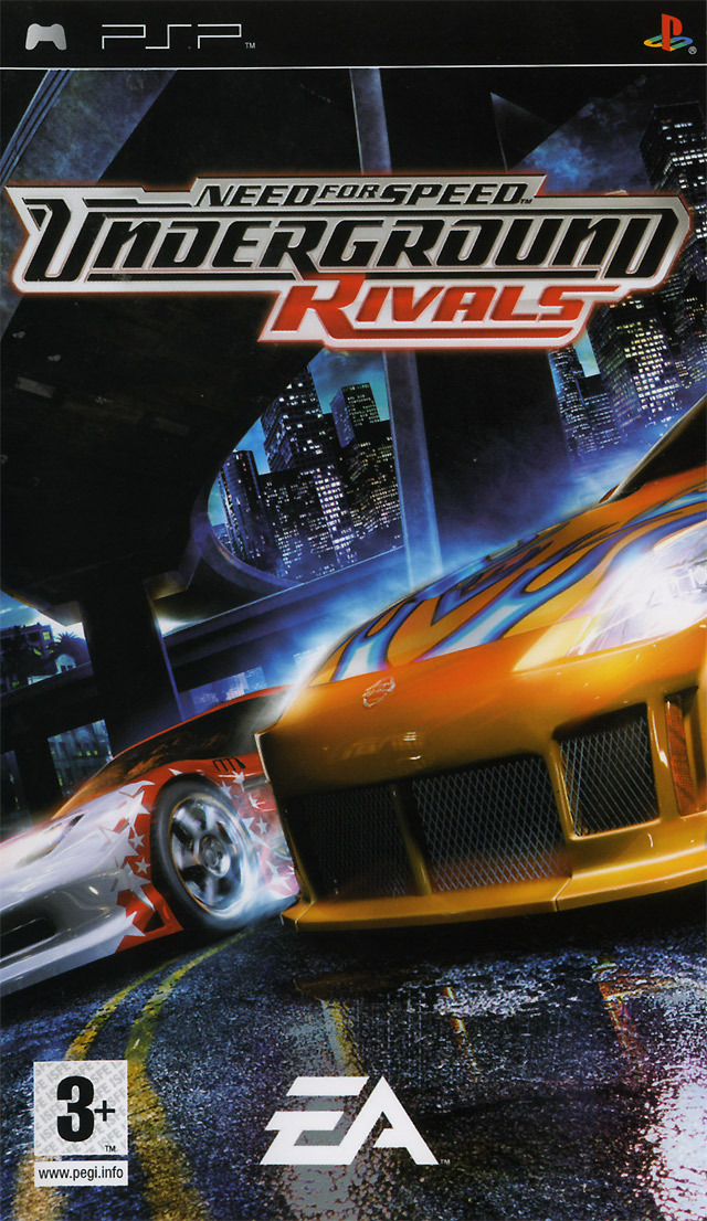 need for speed underground rivals sur playstation portable. Black Bedroom Furniture Sets. Home Design Ideas