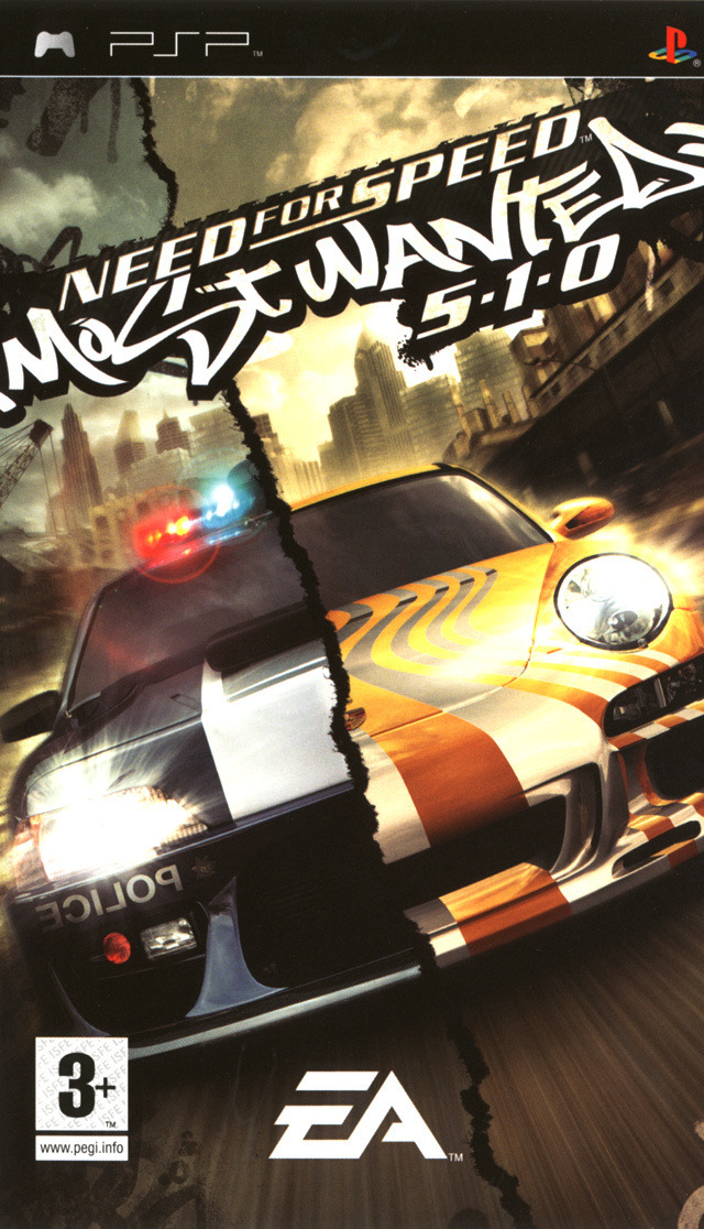 Need for Speed : Most Wanted 5-1-0 PSP