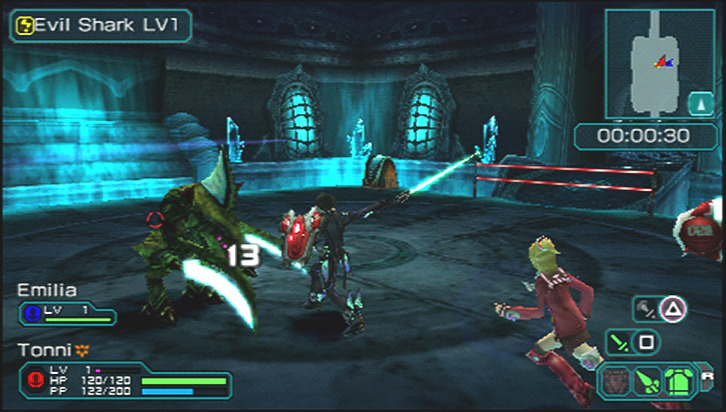 Phantasy Star Portable 2 psp