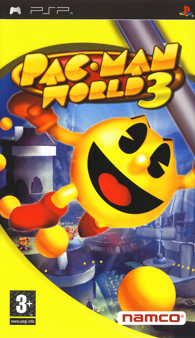 telecharger gratuitement Pac-Man World 3