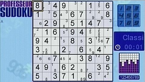 Professeur Sudoku