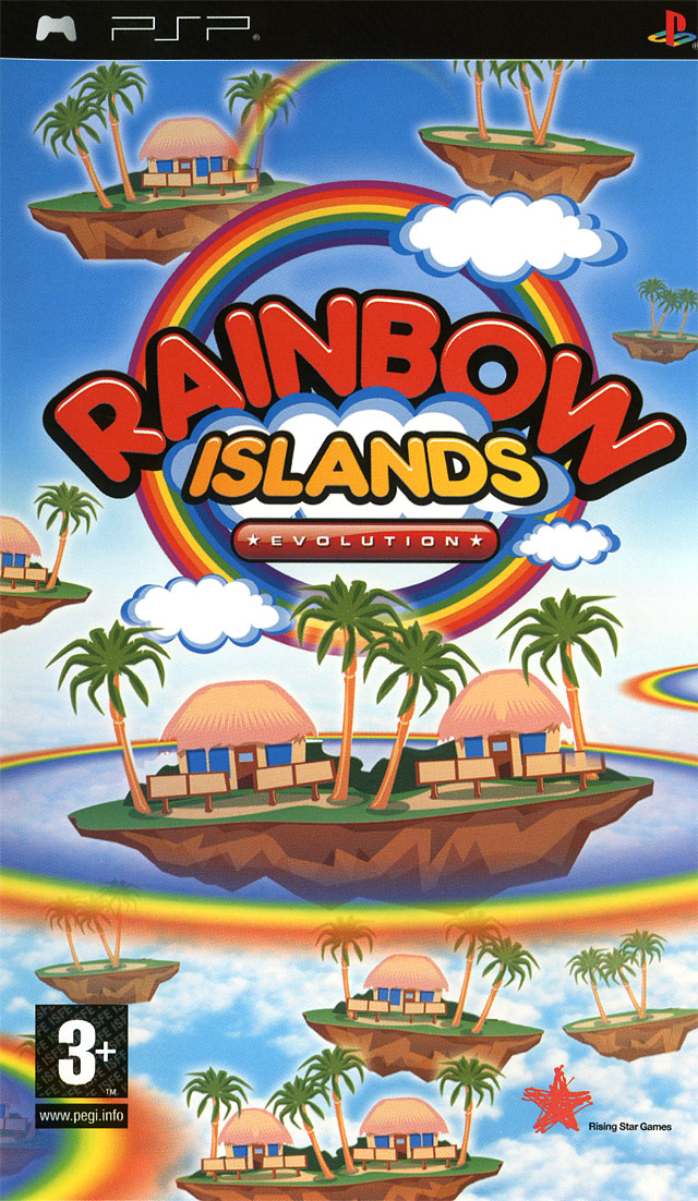 Images Rainbow Islands Evolution PlayStation Portable - 1