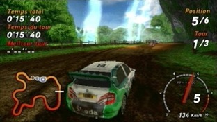 Sega Rally PlayStation Portable