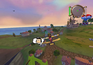 Snoopy vs the Red Baron PlayStation Portable