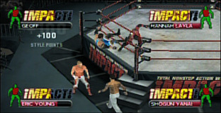 TNA iMPACT! : Cross the Line PlayStation Portable