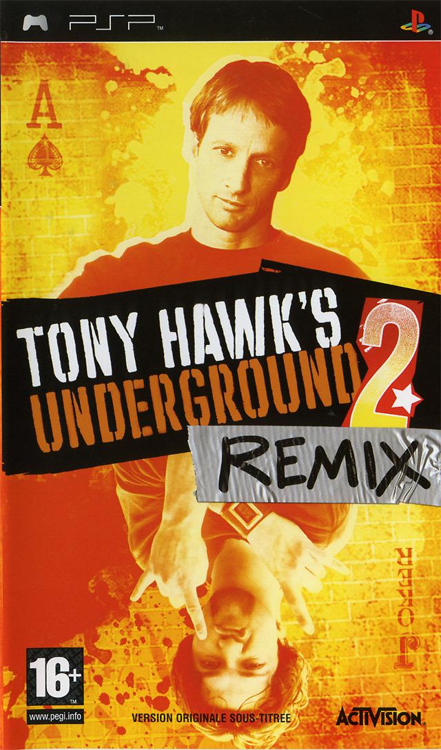 [MULTI] Tony Hawk's Underground 2 : Remix [PlayStation Portable]