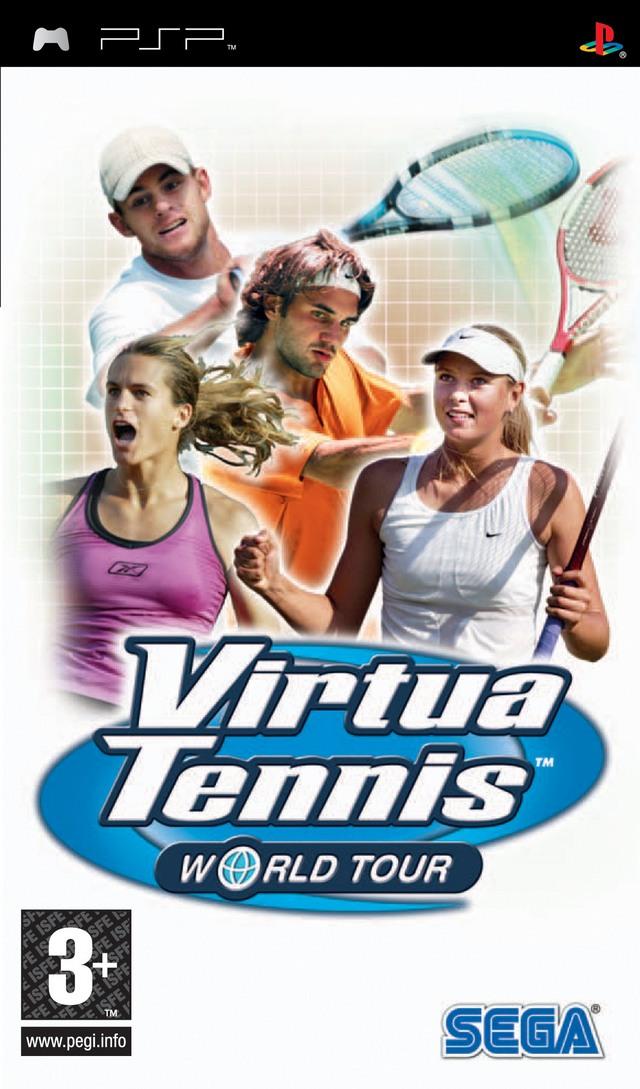 Download / Télécharger Virtua Tennis World Tour psp