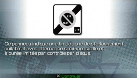 Warning : Code de la Route