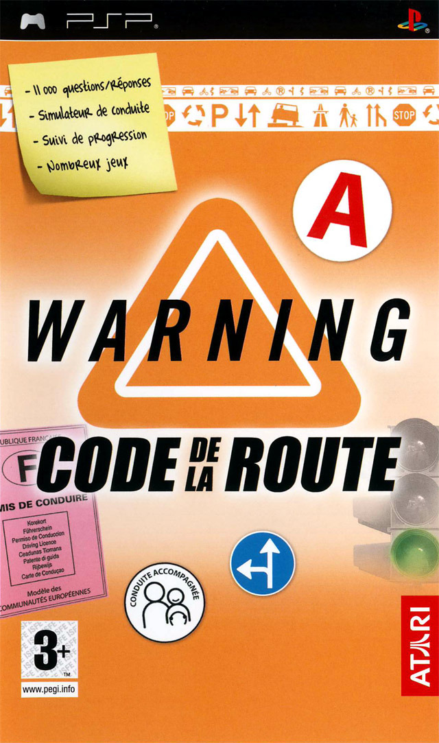 [DF] Warning : Code de la Route [PSP]