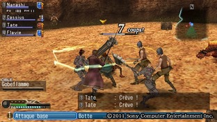Test White Knight Chronicles : Origins PlayStation Portable - Screenshot 21