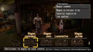 Test White Knight Chronicles : Origins PlayStation Portable - Screenshot 29