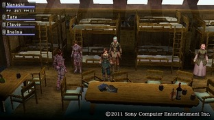 Test White Knight Chronicles : Origins PlayStation Portable - Screenshot 30