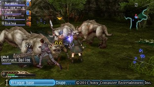 Test White Knight Chronicles : Origins PlayStation Portable - Screenshot 31