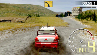 Test WRC PlayStation Portable - Screenshot 12