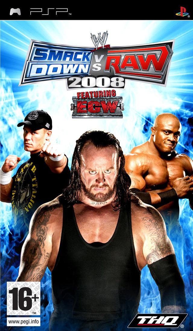 telecharger gratuitement WWE Smackdown vs Raw 2008