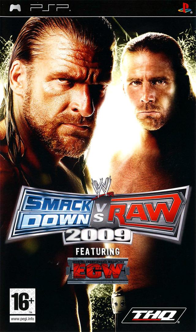 telecharger gratuitement WWE Smackdown vs Raw 2009
