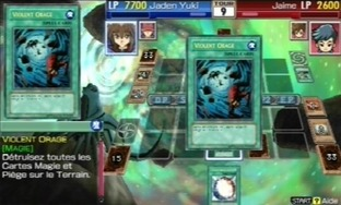 Test Yu-Gi-Oh! GX Tag Force 3 PlayStation Portable - Screenshot 7