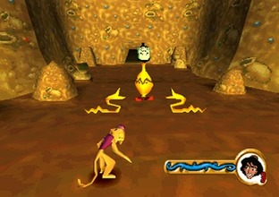 Aladdin : La Revanche de Nasira PlayStation