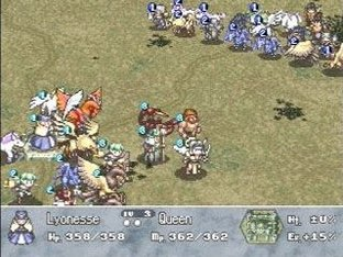 Brigandine : The Legend of Forsena PlayStation