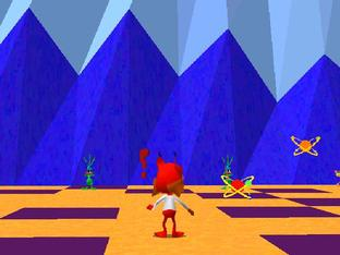 Test Bubsy 3D PlayStation - Screenshot 2