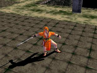 Test Bushido Blade PlayStation - Screenshot 1